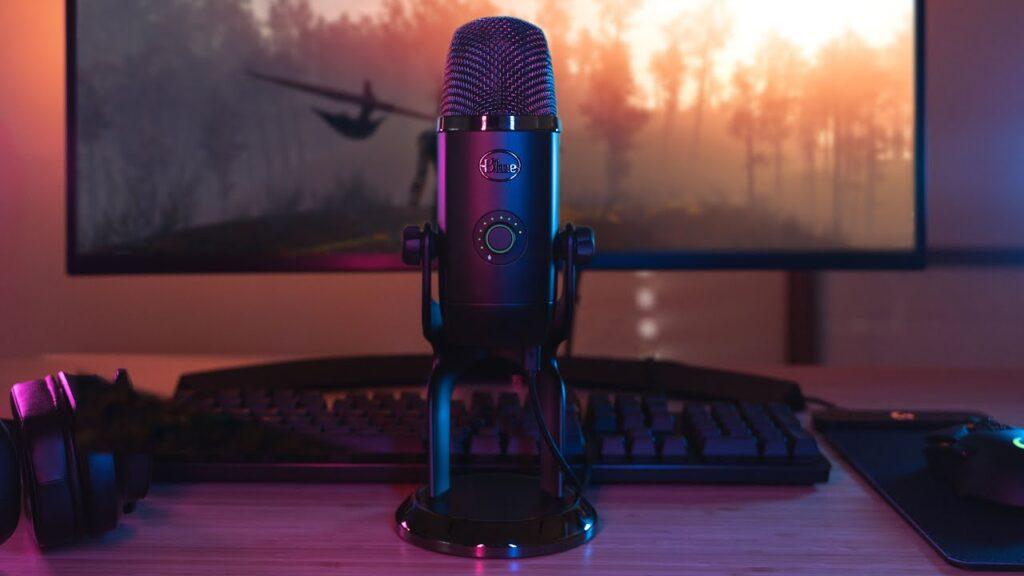 otro de los mejores micrófonos gaming el Blue Microphones Yeti