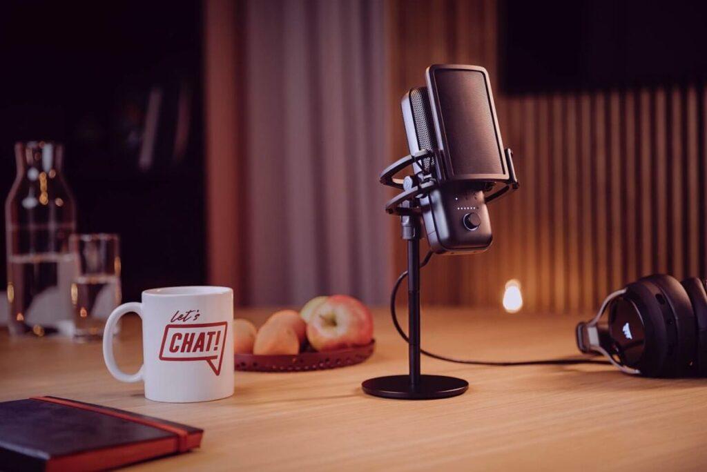 Un micrófono de gama alta el Elgato Wave:3