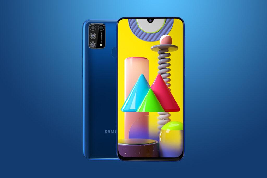 Pequeño pero poderoso smartphone  Galaxy M31 y de valor económico