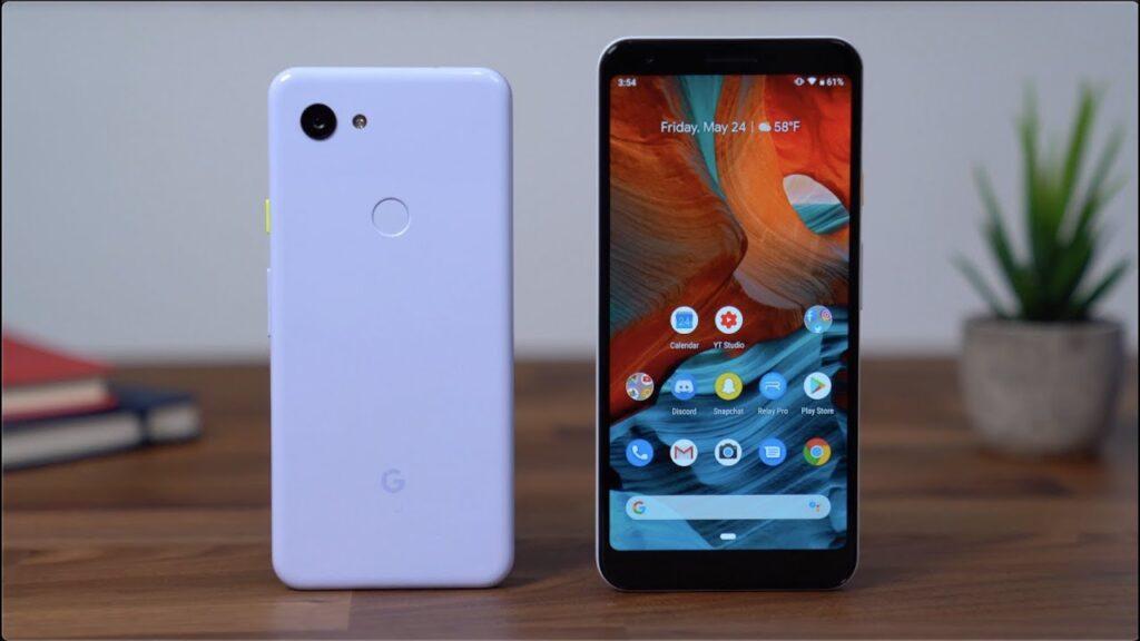 Smartphone destacado en gama media de Google Pixel 3a XL