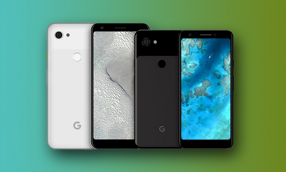 Teléfono inteligente Google Pixel 3a de Gama Media.
