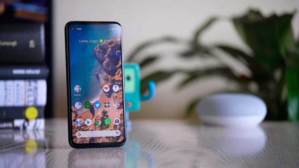 Teléfono Google Pixel 4a
