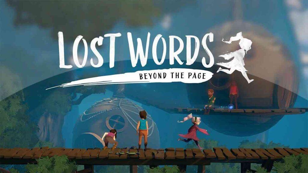 Lost Words: Beyond the Page juego de Nintendo Switch para abril de 2021