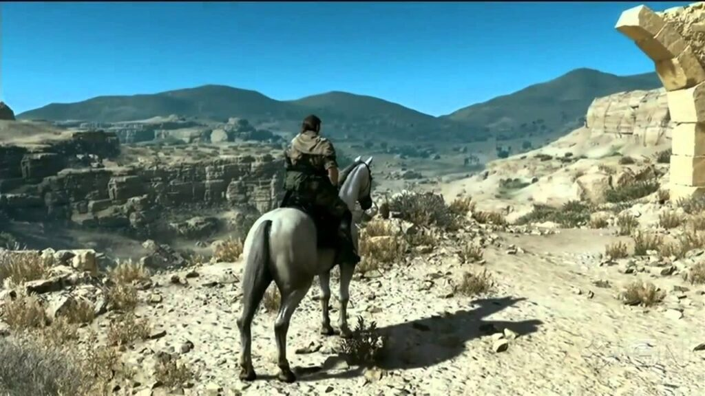 Metal Gear Solid V: The Phantom Pain con mundo abierto