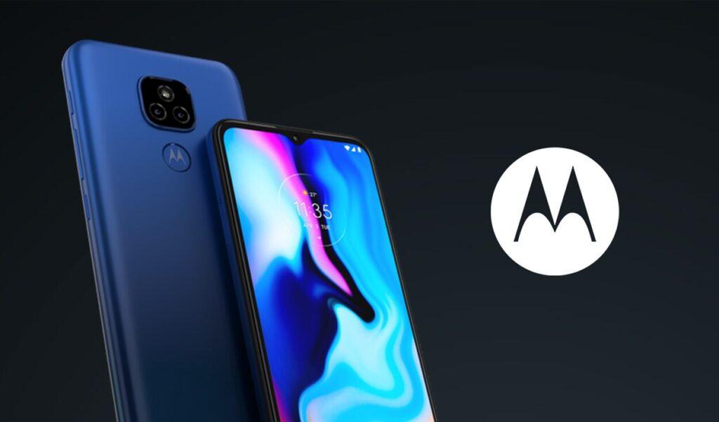 Teléfono de bajo costo Motorola Moto E7 Plus