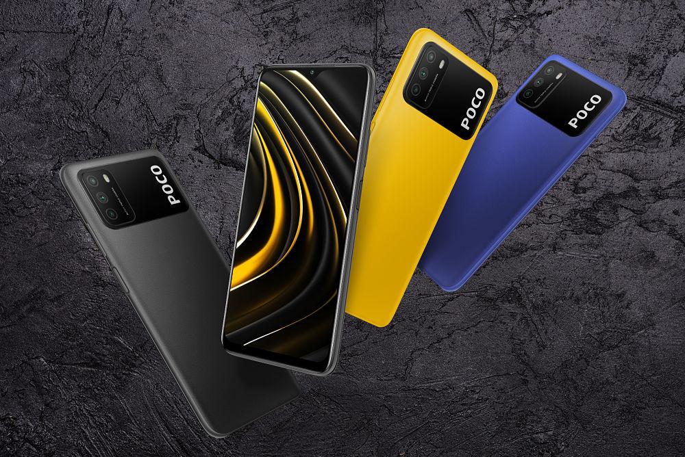Teléfono Android barato POCO M3