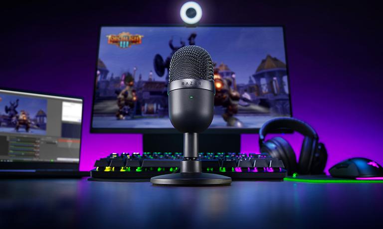 Un micrófono de bajo presupuesto el Razer Seiren Mini ideal para gaming
