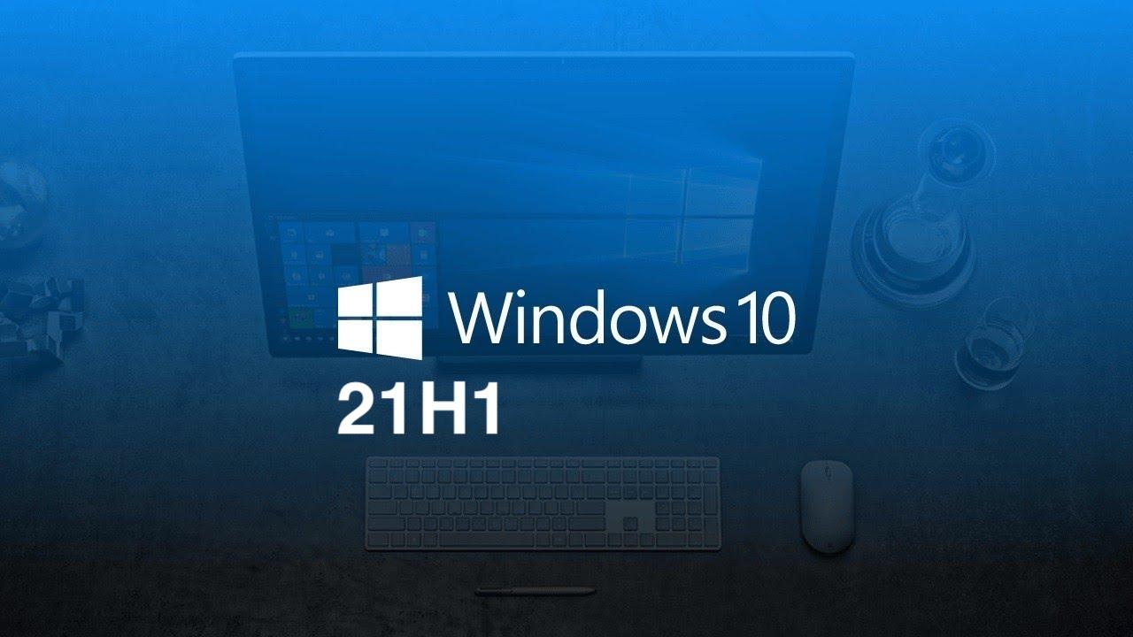 Actualización Windows 10 21H2