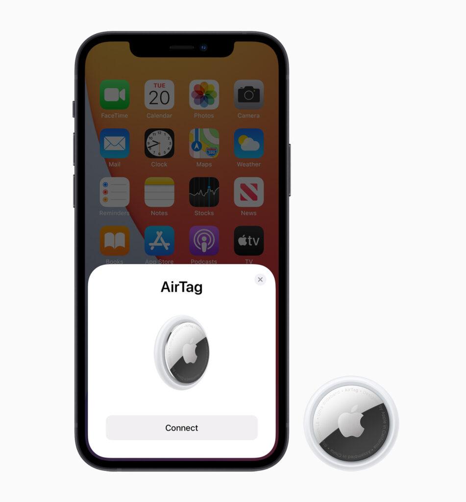 Emparejar AirTags con iPhone