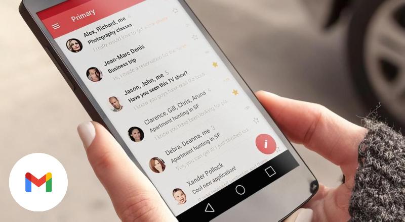 Cuenta Gmail desde el dispositivo móvil