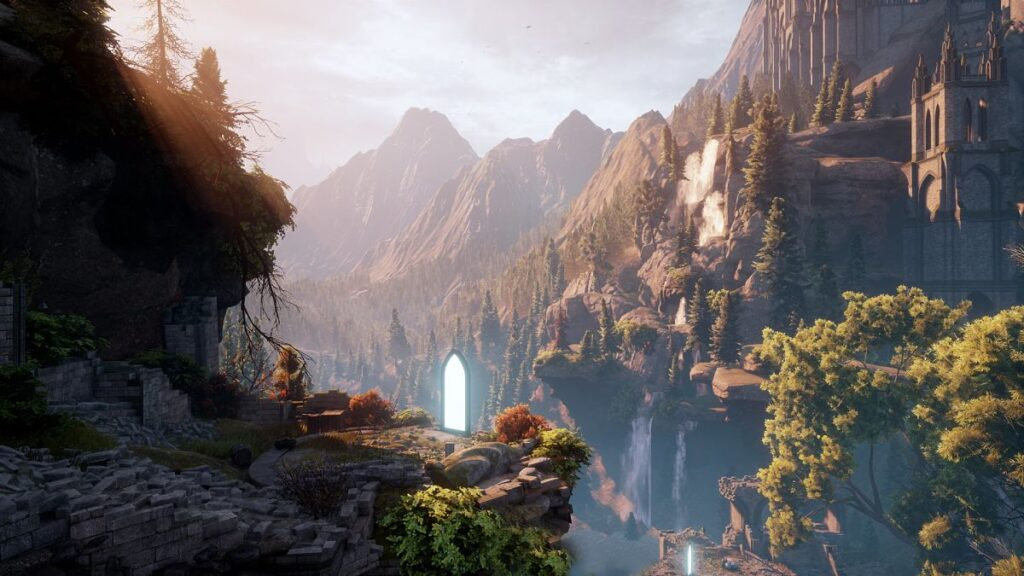 Juego de mundo abierto Dragon Age: Inquisition