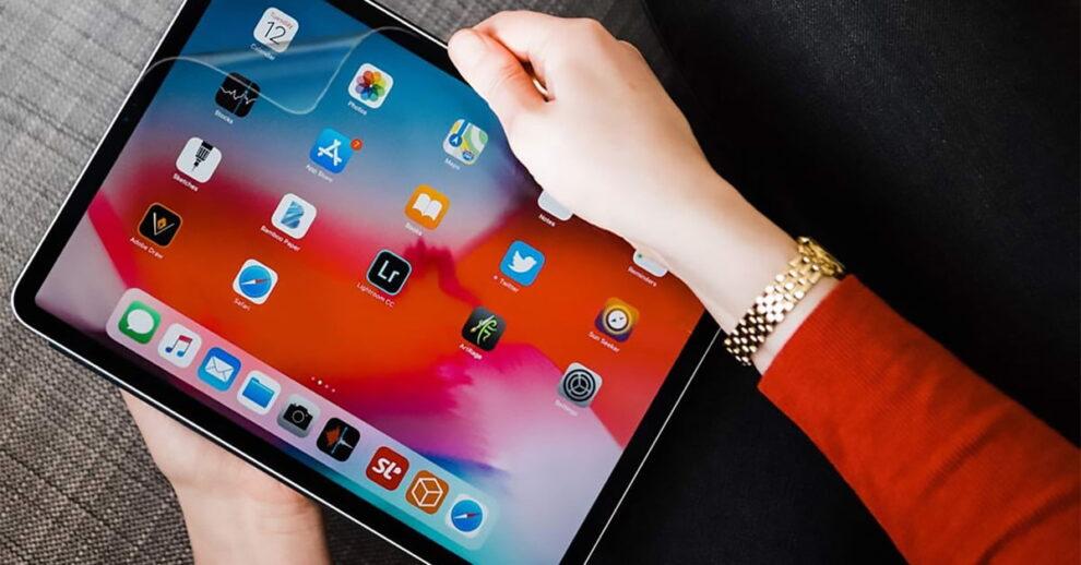 Usando el iPad Pro de 12,9
