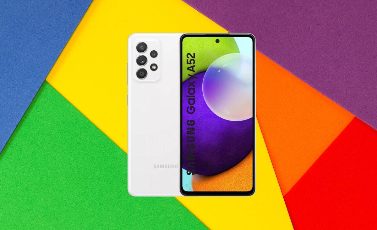 Teléfono celular Samsung Galaxy A52