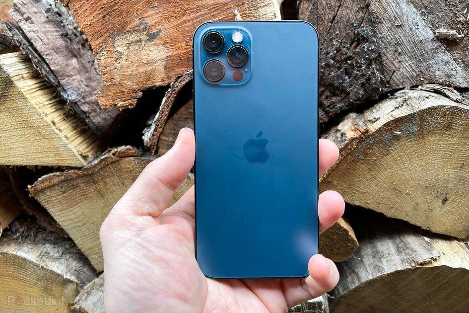 iPhone 12 Pro (Max)  azul