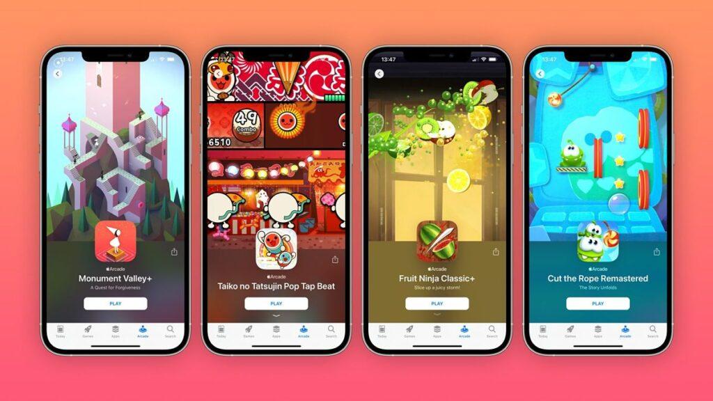 Juegos clásicos de iPhone ahora disponibles en Apple Arcade