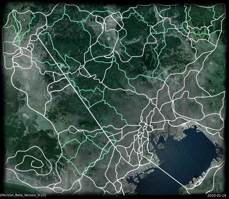 Mapa filtrado de Forza Horizon 5