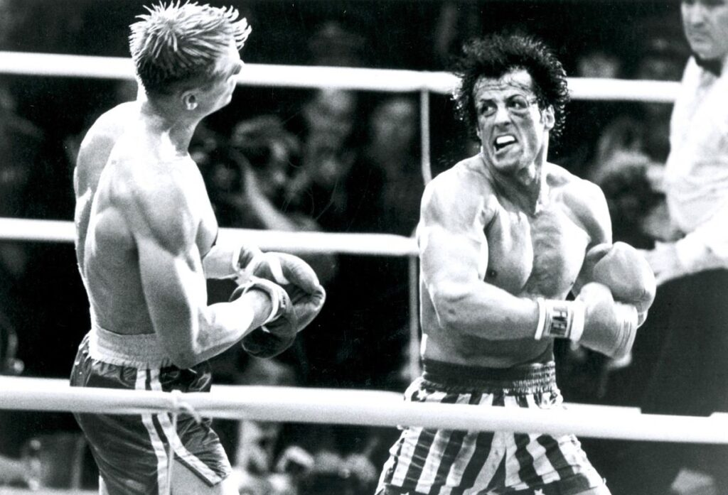 Escena de Rocky 4