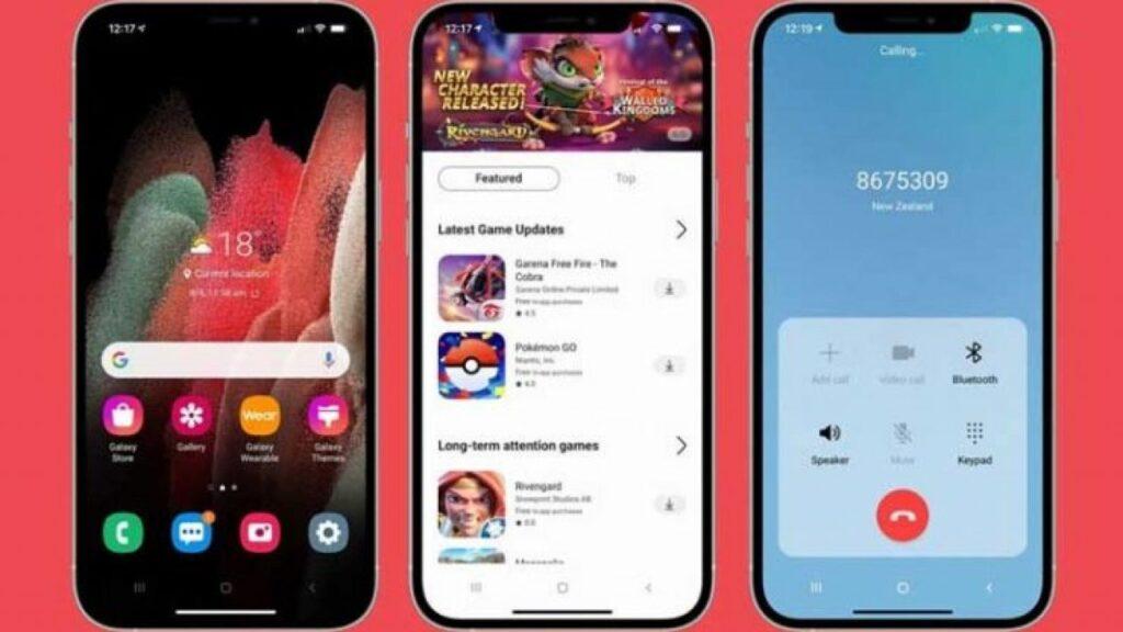 Aplicación iTest para probar el sistema operativo Android de Samsung Galaxy