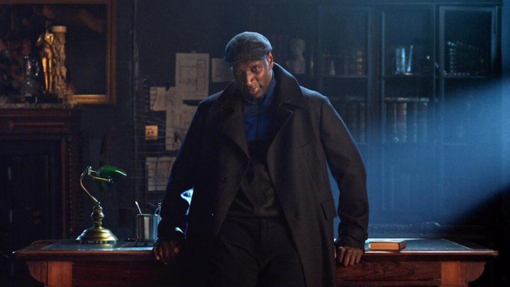 Personaje de la serie Lupin, una de las series más populares de Netflix este 2021
