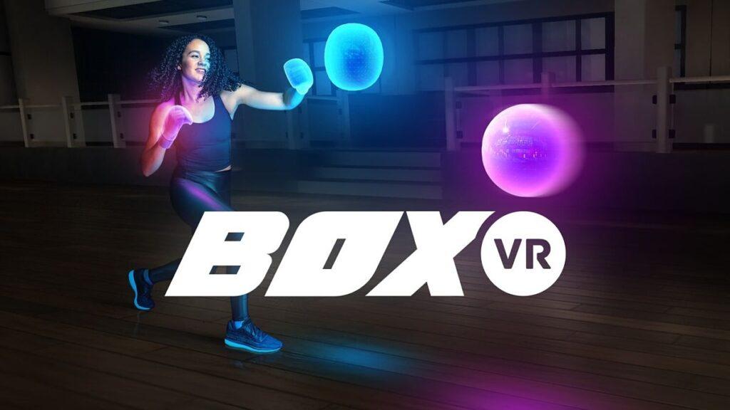 Juego de fitness BoxVR para practicar boxeo en casa