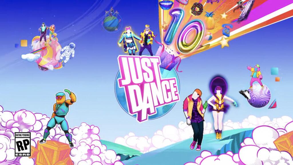 Baile y ejercicios con el juego de fitness Just Dance 2020