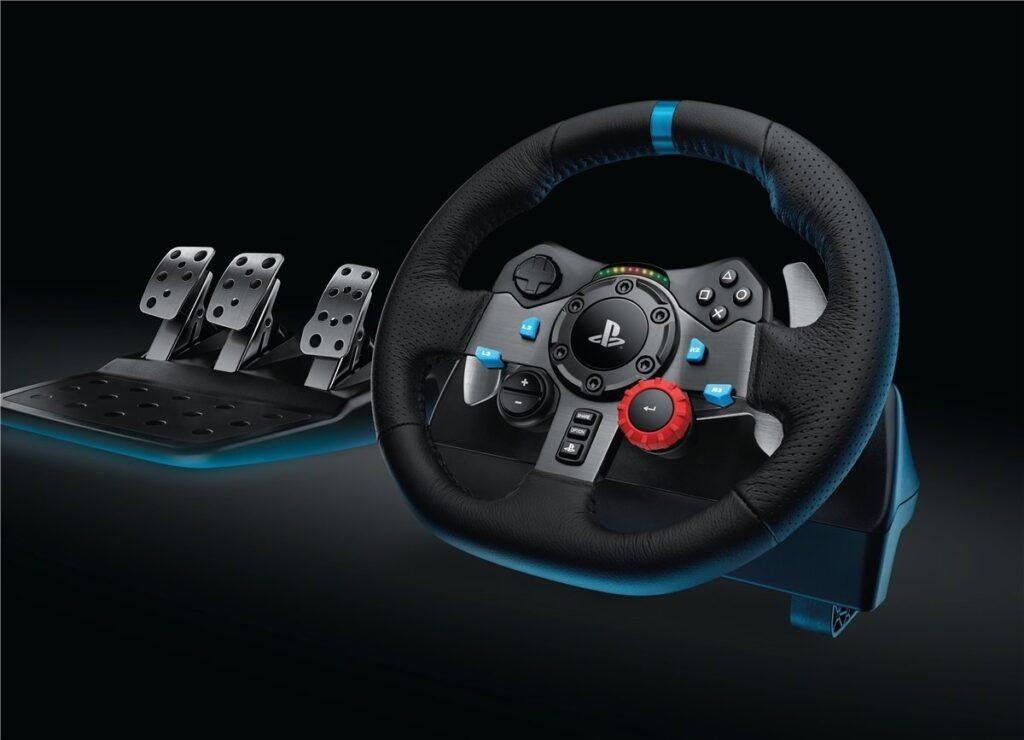 Volante para juegos de PS4 y Xbox Logitech G29