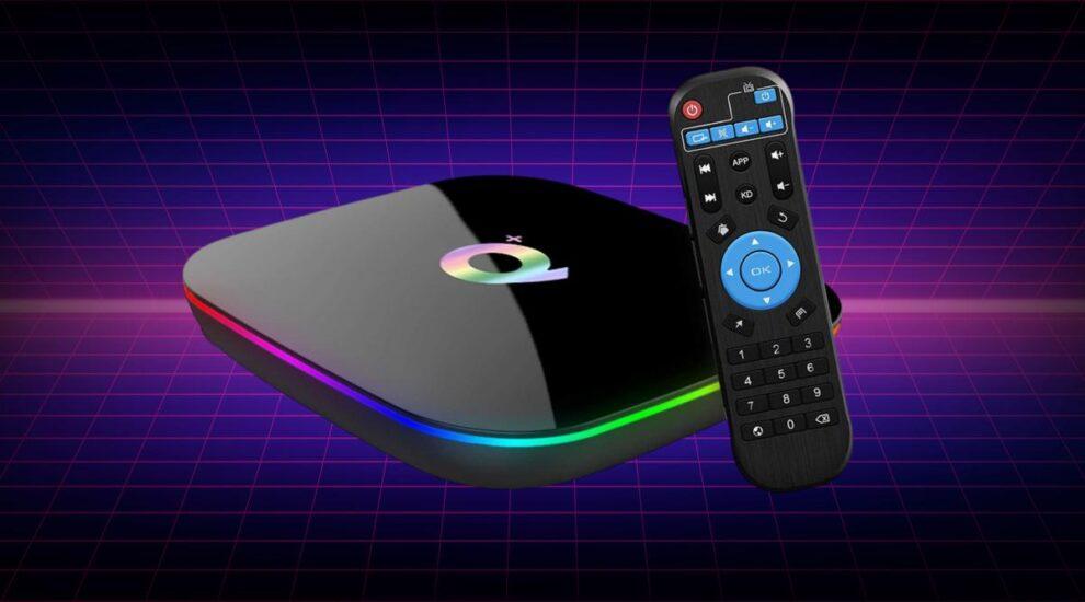 Q Plus Android TV Box