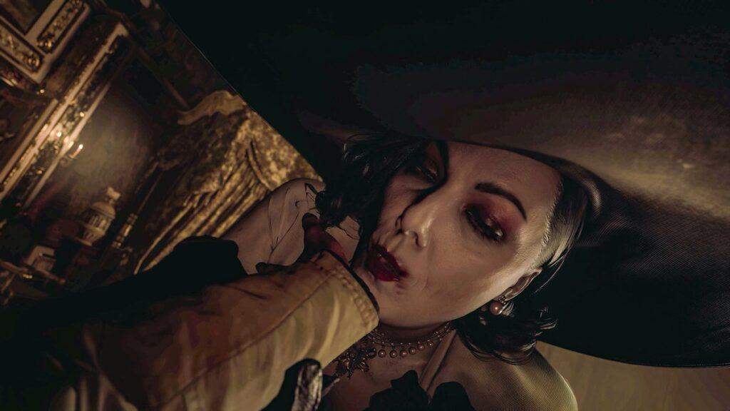 Resident Evil Village personaje Sra. Dimitrescu