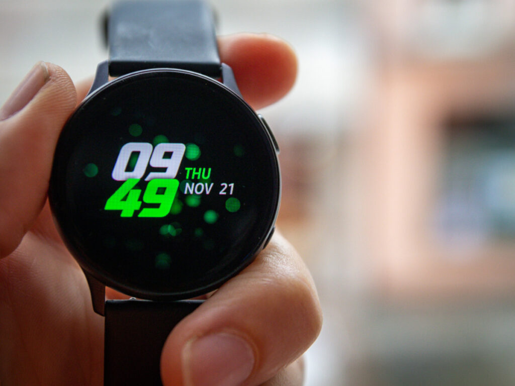 Usando el Samsung Galaxy Watch Active 2