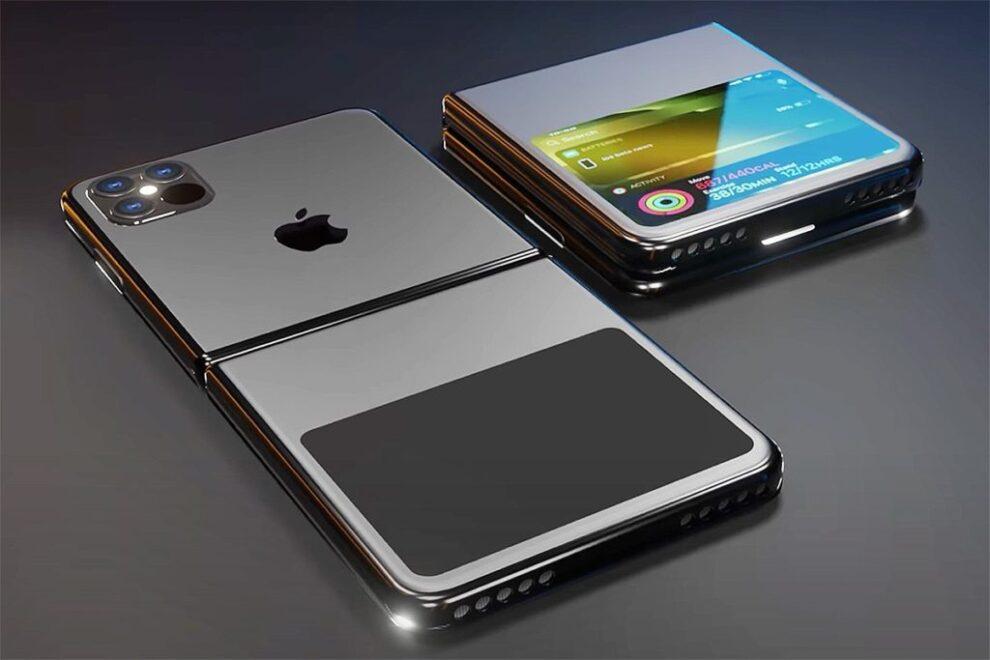 Nuevo iPhone con pantalla plegable