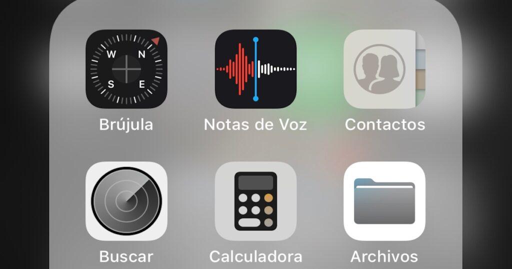Aplicación de Notas de voz en el iPhone para grabar audio con mejor claridad