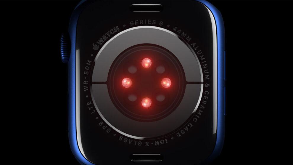 Sensor apple watch medir presión arterial
