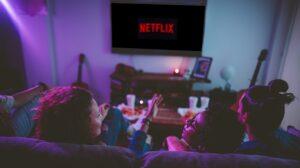 Viendo series, películas y documentales en Netflix