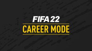 Novedades de FIFA 22 modo carrera